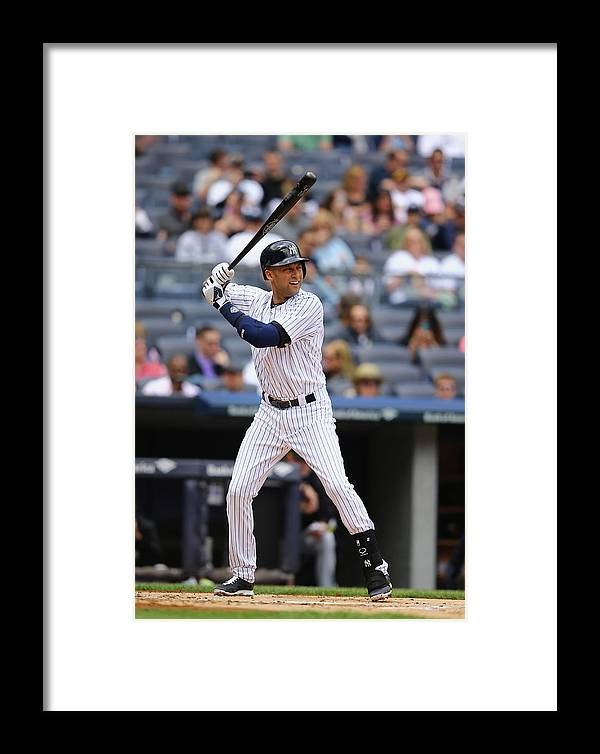 People Framed Print featuring the photograph Pittsburgh Pirates V New York Yankees - 2 by Al Bello