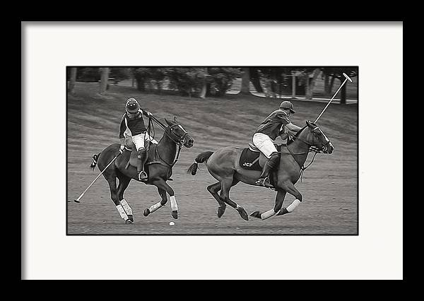 Polo Match by Richard Marquardt
