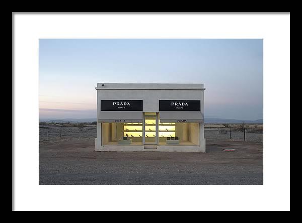 Prada Marfa Framed Art Prints Fine Art America