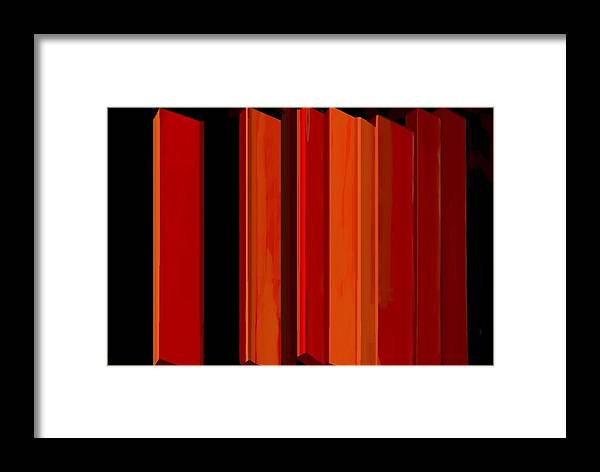 Fineartamerica.com Framed Print featuring the painting Proportions Without Purpose by Diane Strain
