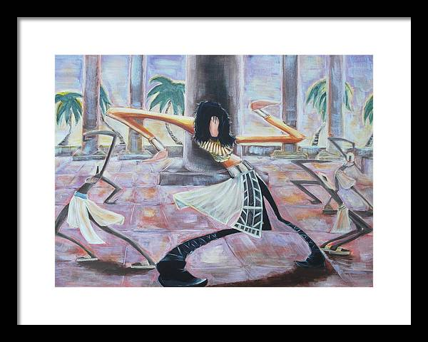 Remember Framed Print featuring the painting Remember The Time by Tu-Kwon Thomas