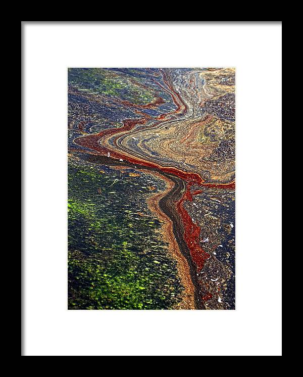 River Framed Print featuring the photograph River by Kent Mathiesen