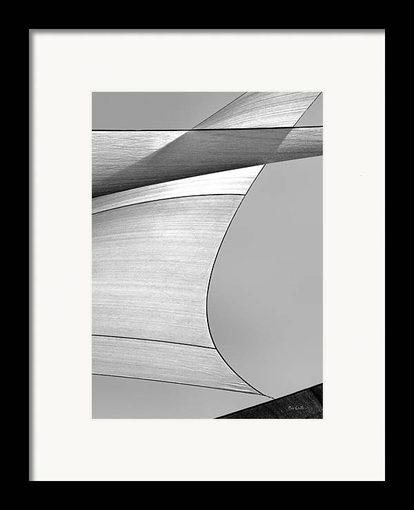 Abstract Framed Print featuring the photograph Sailcloth Abstract Number 4 by Bob Orsillo