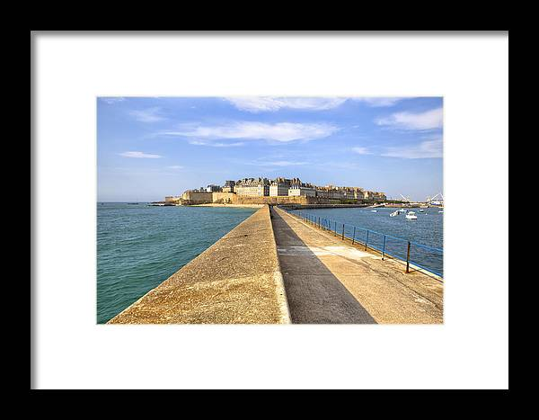 City Framed Print featuring the photograph Saint-malo - Brittany by Joana Kruse