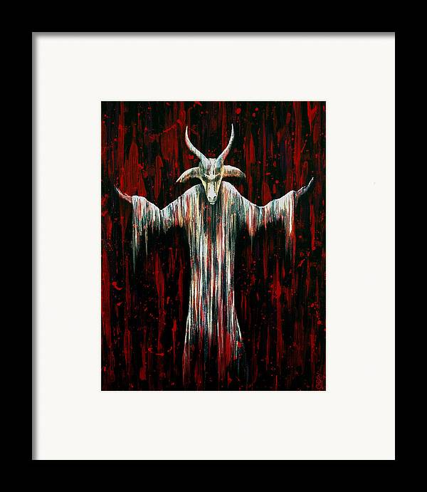 Hartwell Framed Print featuring the painting Savior by Steve Hartwell