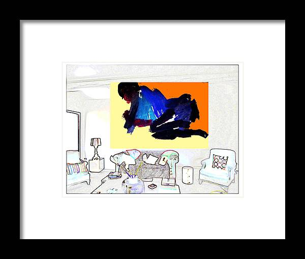 Framed Print featuring the photograph Show Room 2012 by Peter Szabo
