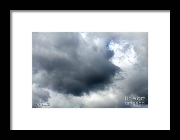 Storm Clouds Framed Print featuring the photograph Storm Clouds by J McCombie