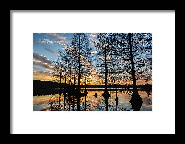 Sunset Framed Print featuring the photograph Sunset At Stumpy by Todd Gontarek