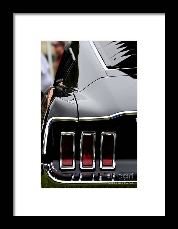 Mustang Framed Print featuring the photograph Terra Nova Hs Car Show by Dean Ferreira
