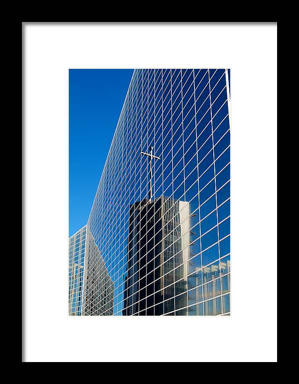 The Crystal Cathedral Framed Print featuring the photograph The Crystal Cathedral by Duncan Selby