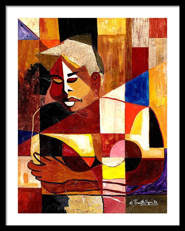 Everett Spruill Framed Print featuring the painting The Matriarch - Take 2 by Everett Spruill