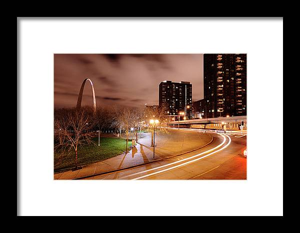 Outdoors Framed Print featuring the photograph Theatrical Lights Give The Surface by Jim Richardson