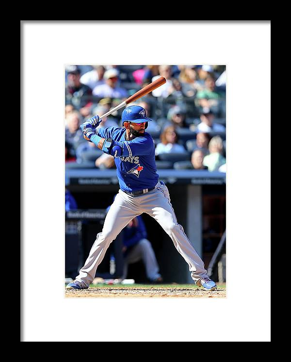 People Framed Print featuring the photograph Toronto Blue Jays V New York Yankees by Elsa