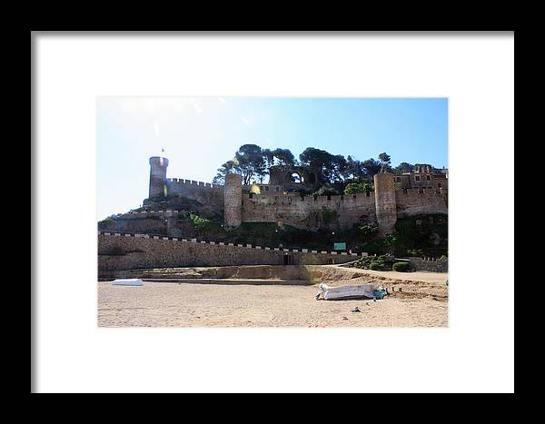 Tossa De Mar Framed Print featuring the photograph Tossa De Mar Costa Brava by Kevin F Cook