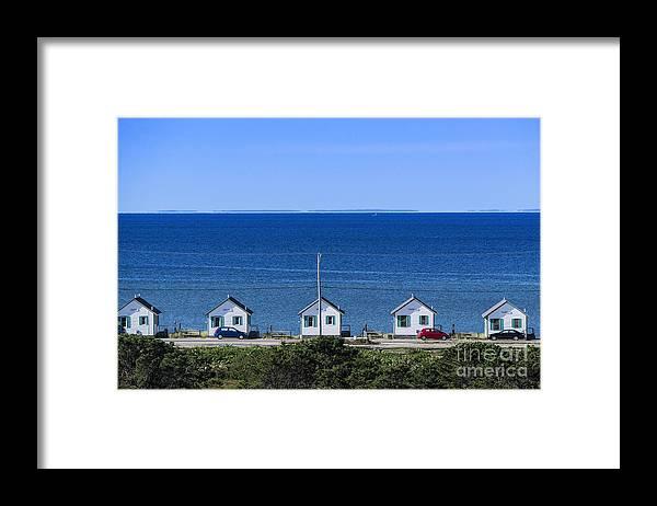 Truro Cottages Framed Print by John Greim