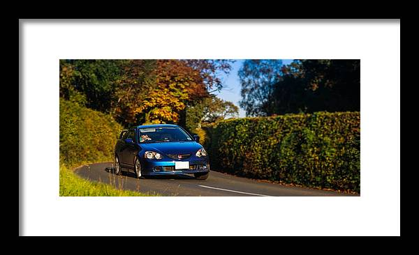 Honda Framed Print featuring the photograph Type R by Christopher Mercer