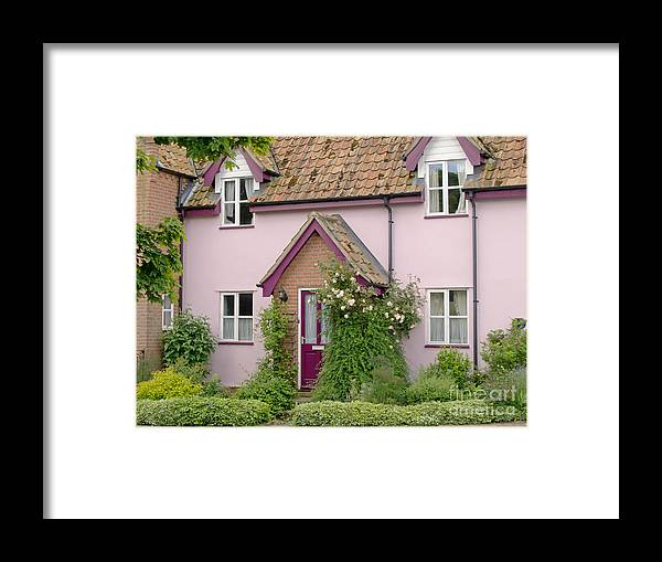 House Framed Print featuring the photograph Village Charm by Ann Horn