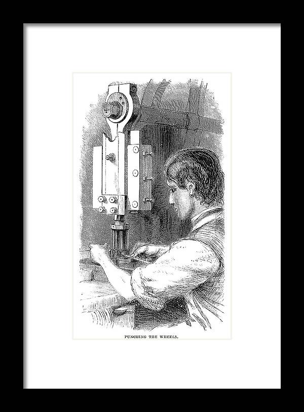 1869 Framed Print featuring the painting Watchmaker, 1869 by Granger