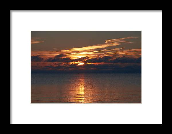 Lehtokukka Framed Print featuring the photograph Yyteri Fall by Jouko Lehto