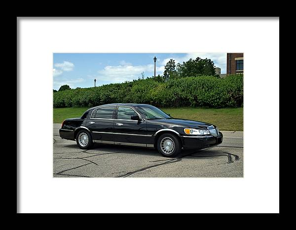 2001 Lincoln Town Car Cartier L Framed Print By Tim Mccullough