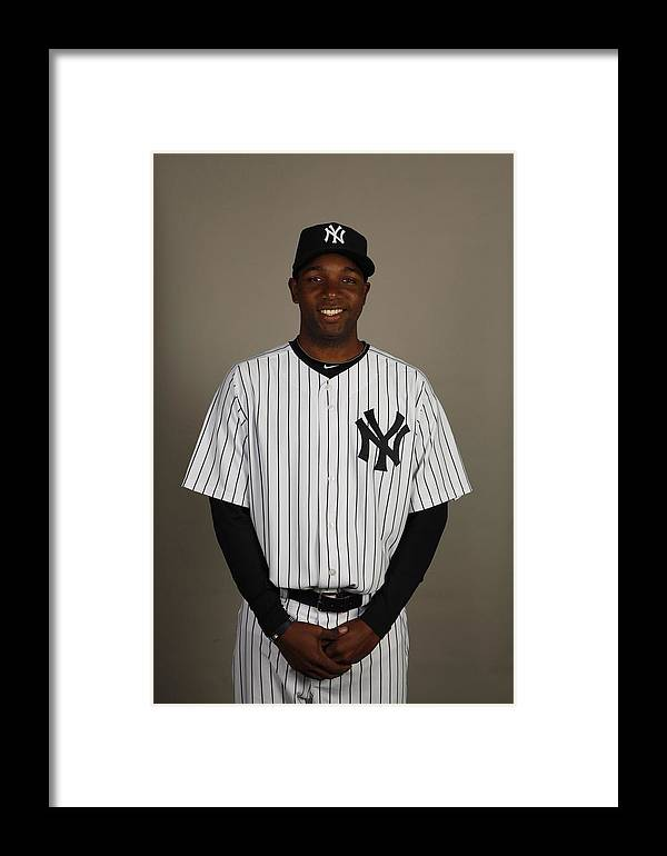 Media Day Framed Print featuring the photograph 2010 Major League Baseball Photo Day by Robert Rogers