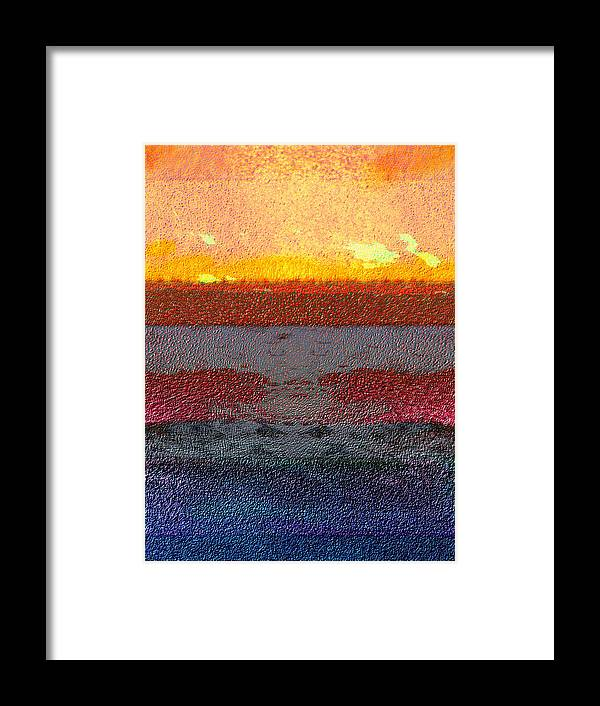 Abstract Framed Print featuring the digital art 2013-10-22 by Bill Ellsworth