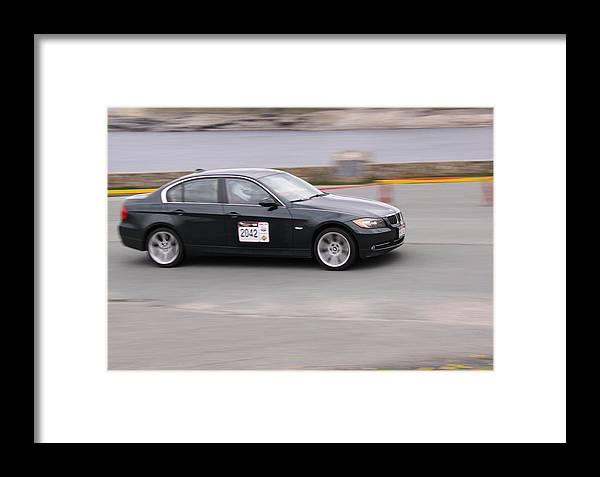 Targa Newfoundland Framed Print featuring the photograph 2013 Targa Flatrock Car 2042 by Darrell Young
