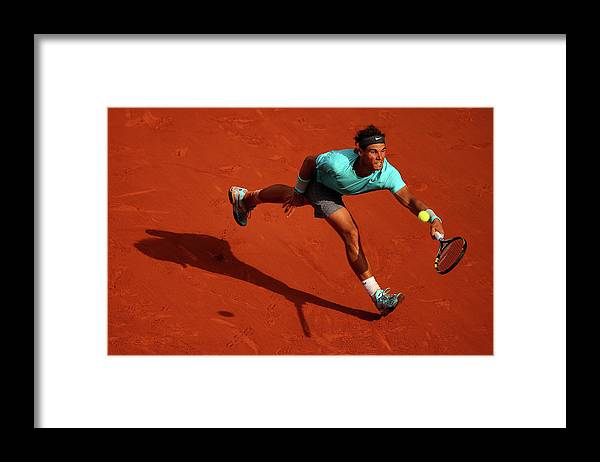 Tennis Framed Print featuring the photograph 2014 French Open - Day Fifteen by Clive Brunskill