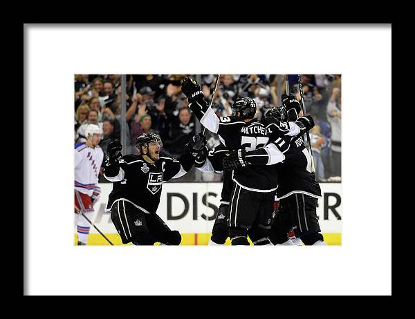 Playoffs Framed Print featuring the photograph 2014 Nhl Stanley Cup Final - Game Two by Harry How