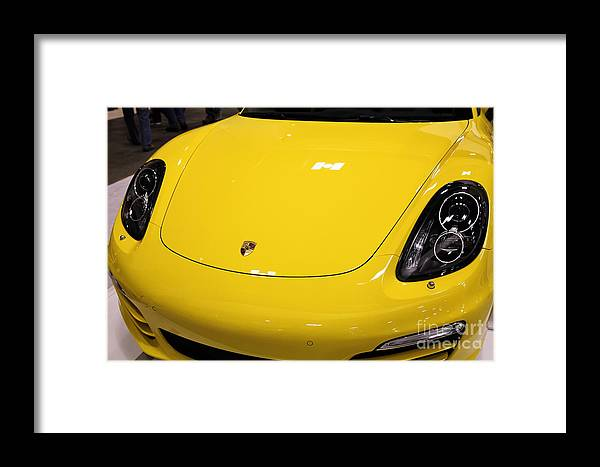 Transportation Framed Print featuring the photograph 2014 Porsche Boxter 5d26954 by Wingsdomain Art and Photography