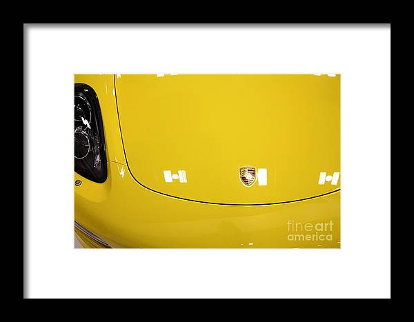Transportation Framed Print featuring the photograph 2014 Porsche Boxter 5d27019 by Wingsdomain Art and Photography