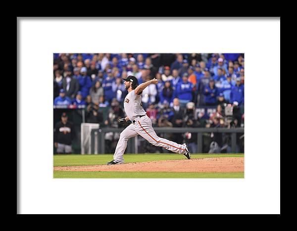 Playoffs Framed Print featuring the photograph 2014 World Series Game 7 San Francisco 2014 by Rob Tringali