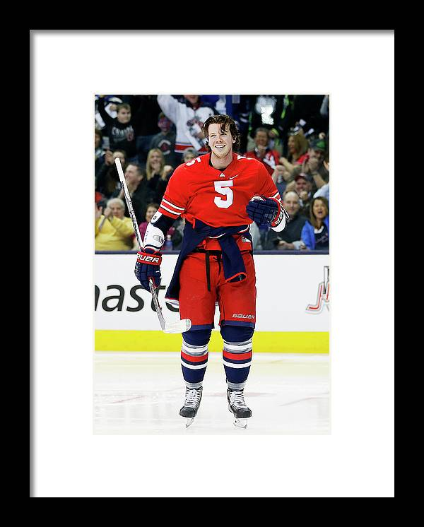 Event Framed Print featuring the photograph 2015 Honda Nhl All-star Skills by Gregory Shamus