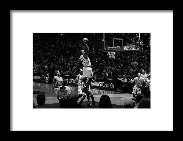 Nba Pro Basketball Framed Print featuring the photograph 2016 Nba Finals - Game Three by Jesse D. Garrabrant