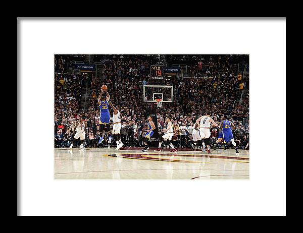 Playoffs Framed Print featuring the photograph 2017 Nba Finals - Game Three by Andrew D. Bernstein