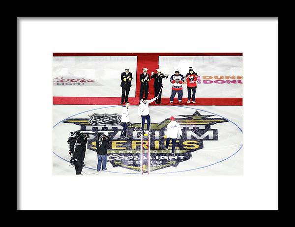 National Hockey League Framed Print featuring the photograph 2018 Coors Light Nhl Stadium Series - by Jeff Vinnick