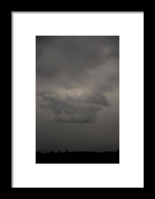 Stormscape Framed Print featuring the photograph Let The Storm Season Begin by NebraskaSC