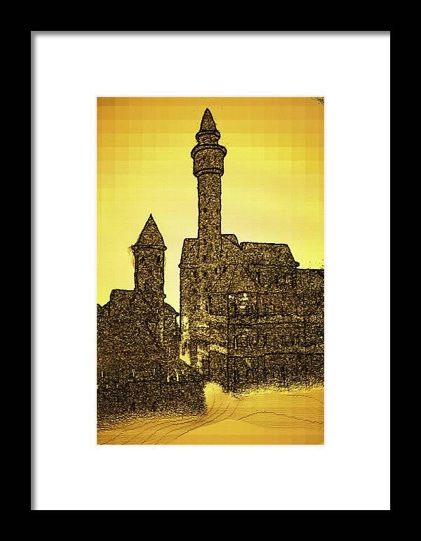 Framed Print featuring the digital art 221220132043 by Oleg Trifonov