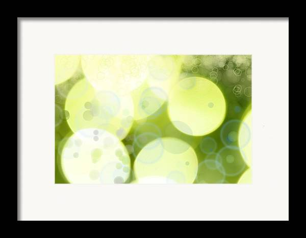 Backgrounds Framed Print featuring the photograph Abstract Background by Les Cunliffe