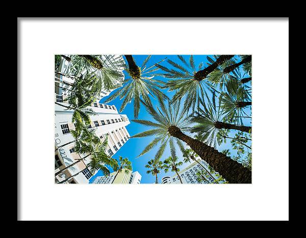 Architecture Framed Print featuring the photograph Miami Beach by Raul Rodriguez