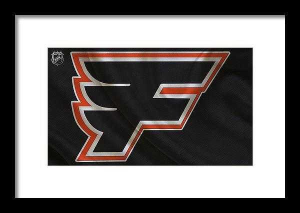 Flyers Framed Print featuring the photograph Philadelphia Flyers by Joe Hamilton