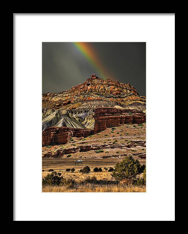 Mountains Framed Print featuring the photograph 2541 by Peter Holme III
