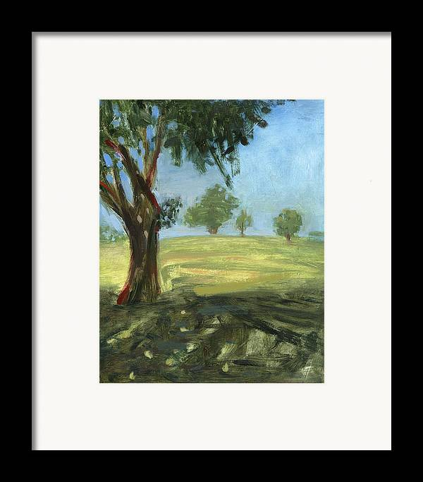 Trees Framed Print featuring the painting Rcnpaintings.com by Chris N Rohrbach