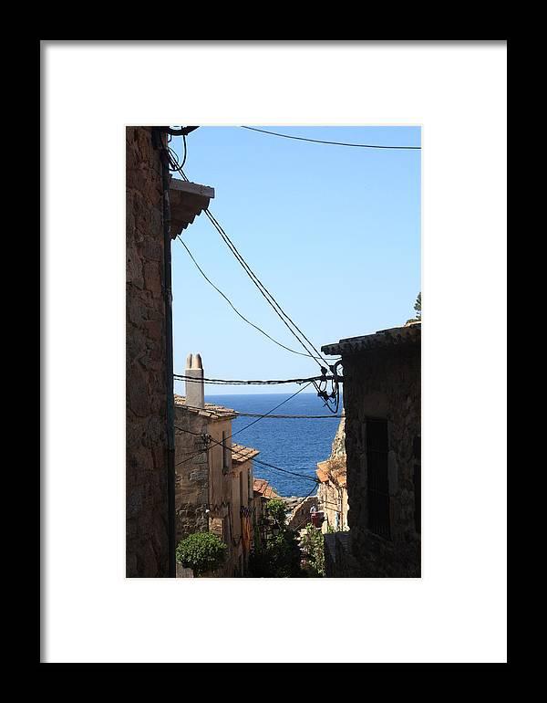 Tossa De Mar Framed Print featuring the photograph Tossa De Mar Costa Brava by Kevin F Cook