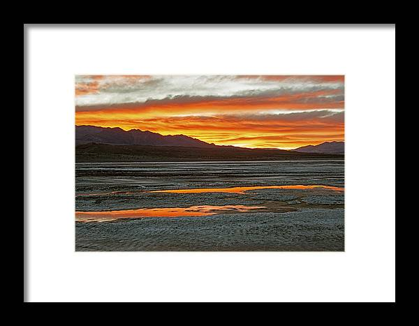 Death Valley Photographs Framed Print featuring the photograph Death Valley by Larry Gohl
