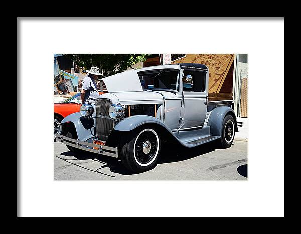Hot Framed Print featuring the photograph 29' Ford by Thomas Medaris