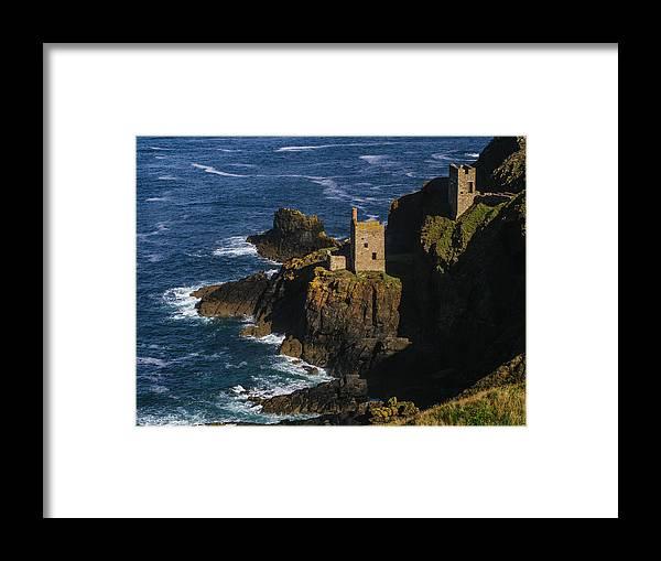 Scenics Framed Print featuring the photograph Abandoned Tin Mines Near Bottalack by Doug Armand