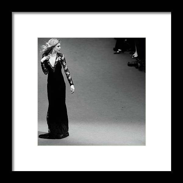 Film Festival Framed Print featuring the photograph An Alternative View - The 66th Annual by Vittorio Zunino Celotto