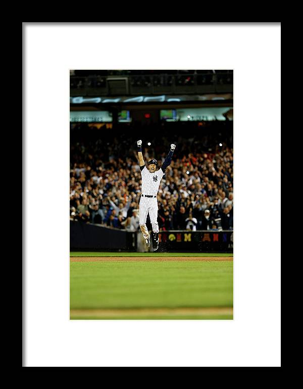 Ninth Inning Framed Print featuring the photograph Baltimore Orioles V New York Yankees 3 by Elsa