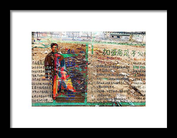 China Framed Print featuring the photograph China Sandwich by Jean Schweitzer